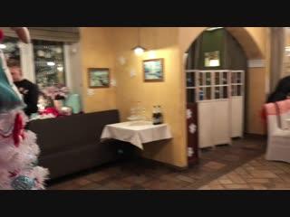 Багряный Банкет в зале Неаполь ресторана Лимон