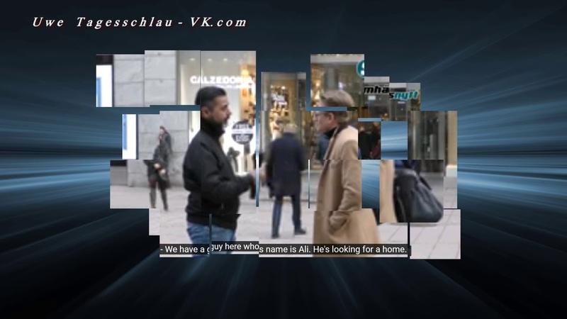 Schweden - Gutmenschen - Experiment Keiner will Ali mit nach Hause nehmen