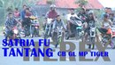 Ini Dia SATRIA FU HEREX PENANTANG CB GL MP TIGER :: Balap Liar Drag Bike
