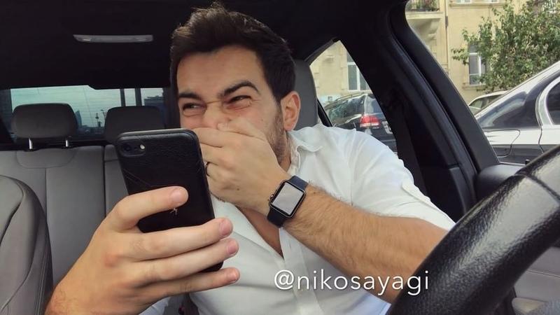 "Nicat Mutallimov on Instagram 55 saniyede bayram tebriki Öyrenin 😂😂 @nikosayagi life"""