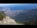 Таракташ и Ялта - вид с плато Ай-Петри