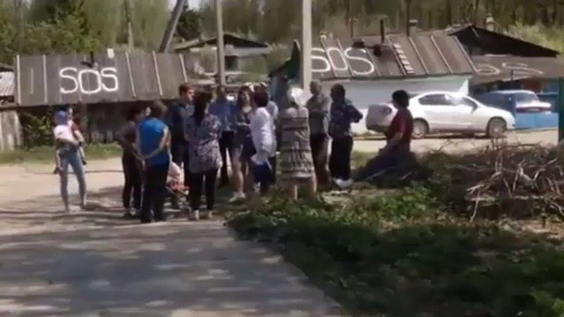 Жители поселка в Казани пишут SOS ПУТИН ПОМОГИ