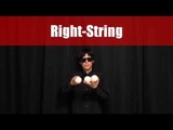 Puzzle Game Juggling Trick No.8 - 3 balls Right-String difficulty low basic