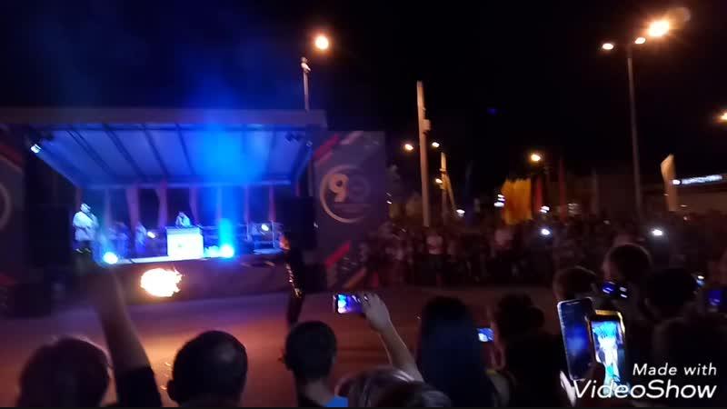 Фаер шоу в Борисовке 05.08.2018