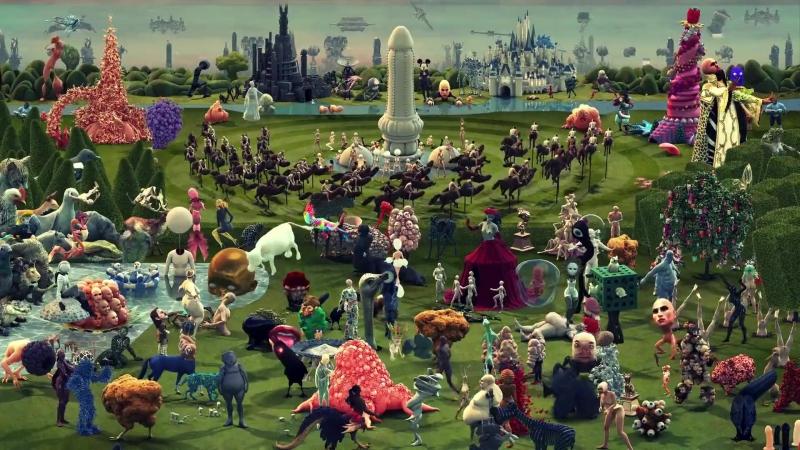 Галлюцинаторная интерпретация «Сада земных наслаждений» Иеронима Босха (2017) St