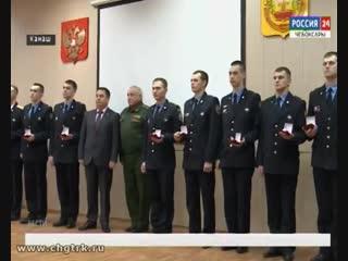 Чувашские сыны отправились на службу в Президентский полк Источник