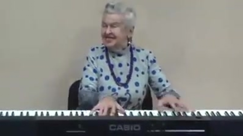 Этой фантастической женщине 92 года Послушайте ее песню