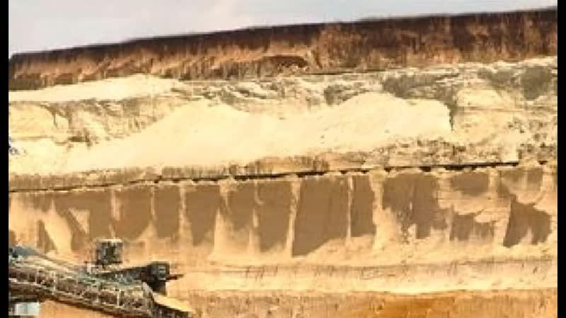 """Откопали допотопные кипарисы под 20м.песка и другие странности _""""геологии_""""."""