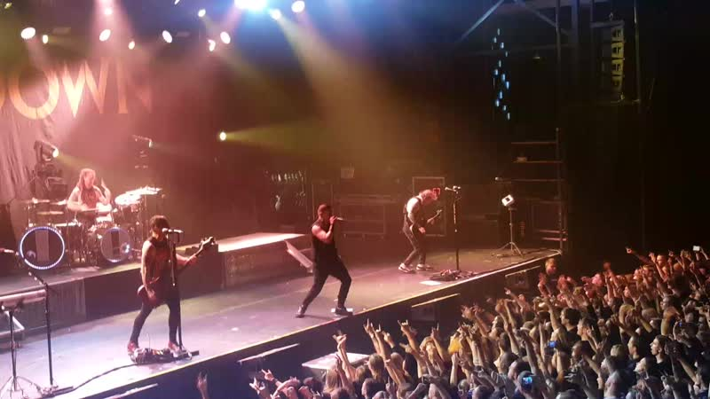 Shinedown - Sound of madness - Санкт-Петербург 3.12.18