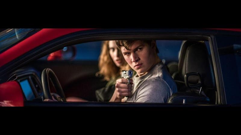 Малыш угоняет красный Dodge Challenger,и дрифтит по городу.Малыш на драйве.