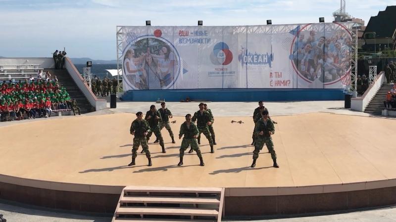18 день Показательные выступления Разведбатальон 155 морской пехоты