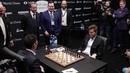 Woody Harrelson plays a joke at World Chess Championship
