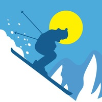 Логотип ГУДАУРИ / Горнолыжный курорт, горнолыжные туры