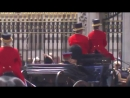 The newly married Duke and Duchess of Sussex today attended the TroopingtheColour parade. Prince Harry and Meghan Markle rode th