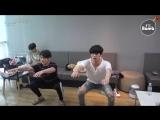 [RUS SUB][BANGTAN BOMB] JK & JIN's exercise time - BTS