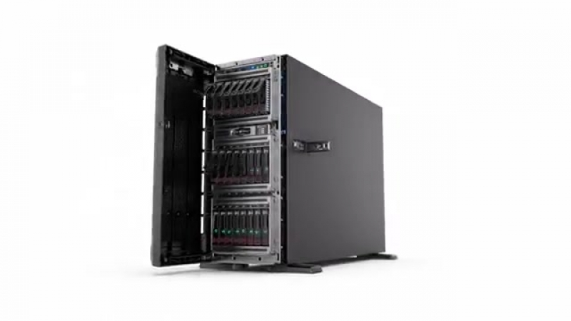 HPE ProLiant ML350 Gen10 Server Exploded View Animation