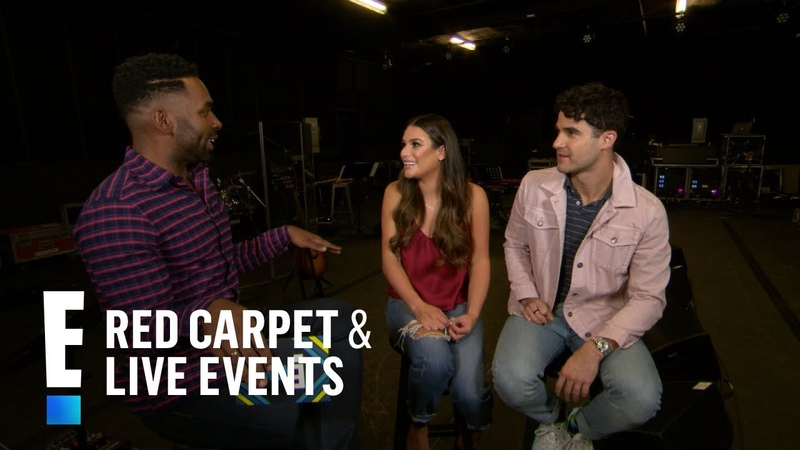 Lea Michele Darren Criss Play Hilarious Game With E! | E! Red Carpet Live Events
