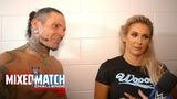 WWE Mixed Match Challenge 04.12.2018 - Charlotte Flair &amp Jeff Hardy find a silver lining in MMC defeat