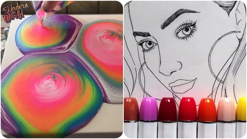 Most Amazing Art Video Color Show 8❤️💙💚Oddly Satisfying video! Talented people are awesome!