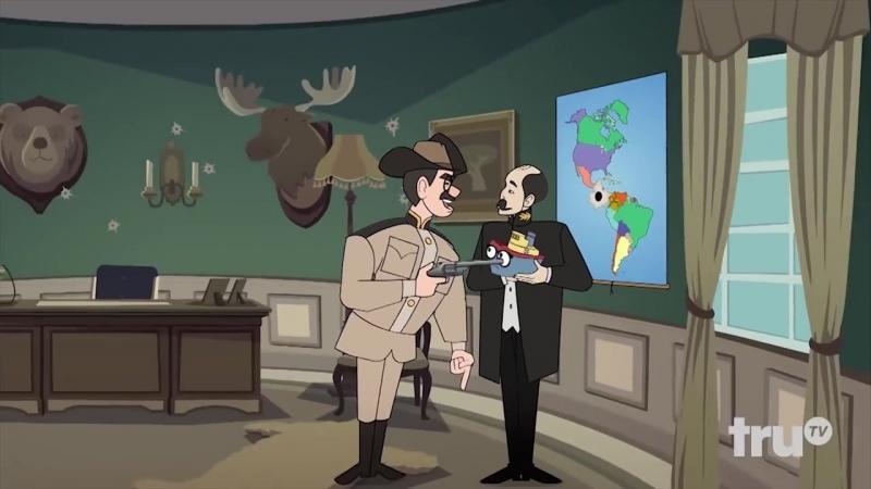 Адам Портит ВСЁ Панамский канал Русская озвучка Крик Студио