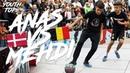 Anas Jaber DEN VS Mehdi Amri BEL PHI18 World Championship YOUTH TOP8