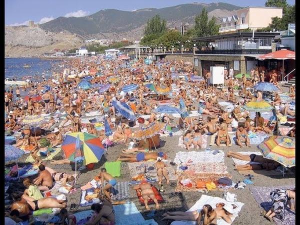 Крым.Туристы.Жара.Июнь 23