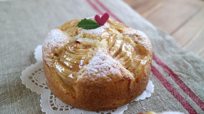 Easy Apple cake 林檎ちびケーキ♪ やさしい美味しさ。。。