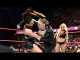 Ronda Rousey Almost Breaks Mandy Rose's Arm (FULL SEGMENT) - RAW March 26. 2018 (HD)