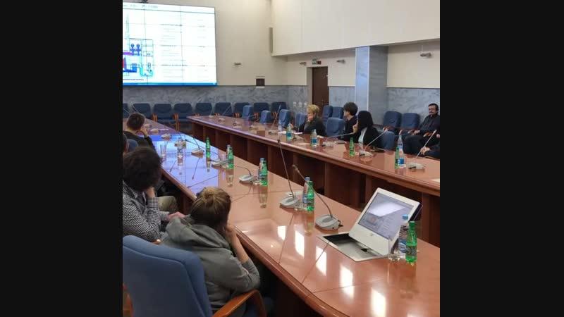 На Ленинградской атомной станции 2