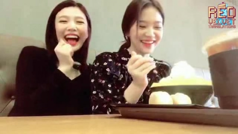 170919 Joy, Yeri (Red Velvet) @ V LIVE [рус. саб]