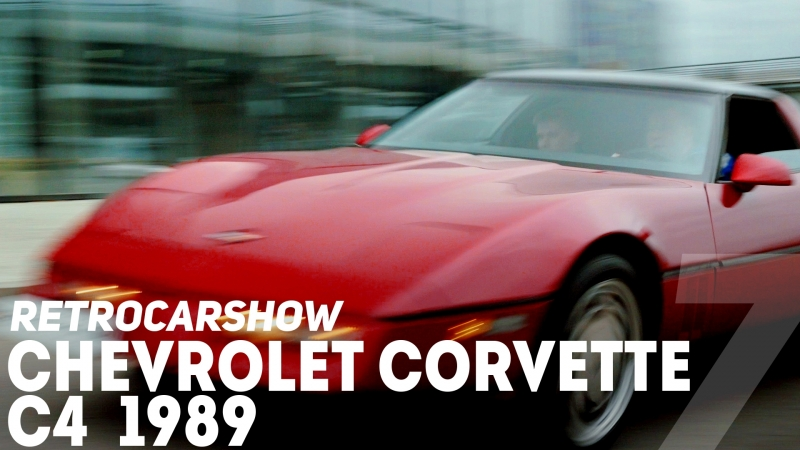 RetroCarShow 7 Chevrolet Corvette C4 1989