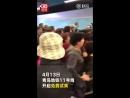 Riding the Qingdao metro for free