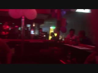 Pattaya soi diana 2_1-2019 ferdinand bar blow condom competition big party