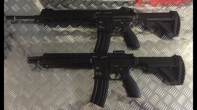 Обзор HK416 и M27 EC