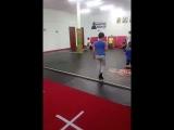 Стретчинг (растяжка) в конце тренировки в группе 10-13 лет