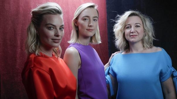 Margot Robbie & Saoirse Ronan The Los Angeles Times, 2018
