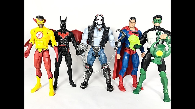 DC Multiverse LOBO collect and connect Action Figure WAVE Review