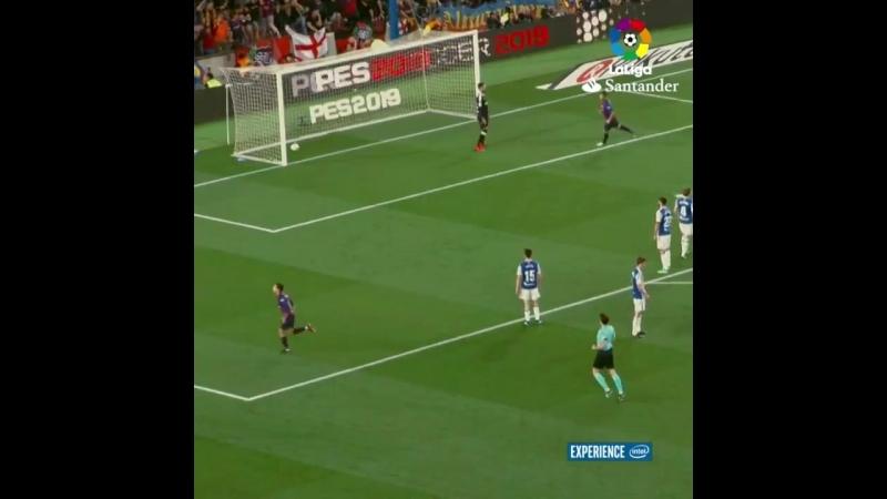 Гол Коутиньо в ворота Реал Сосьедада