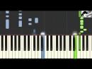 [v- Beni Gittiğin Yere - Piano by