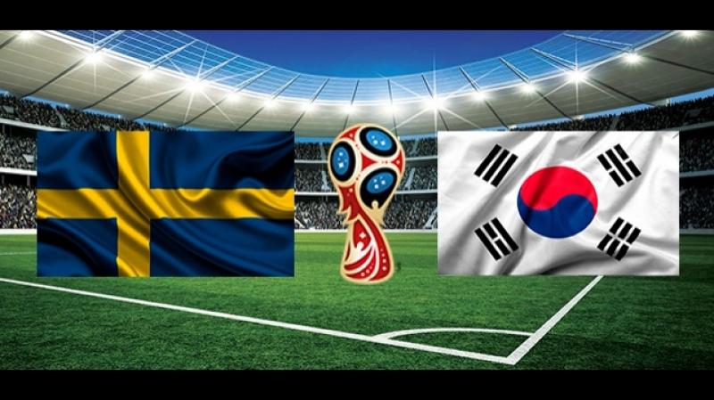 Футбол. Чемпионат Мира 2018 / Группа F / 1-й тур / Швеция — Южная Корея