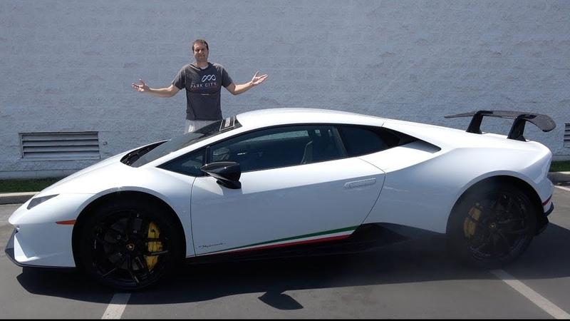 Тест-драйв - Lamborghini Huracan LP640-4 Performante (2017)
