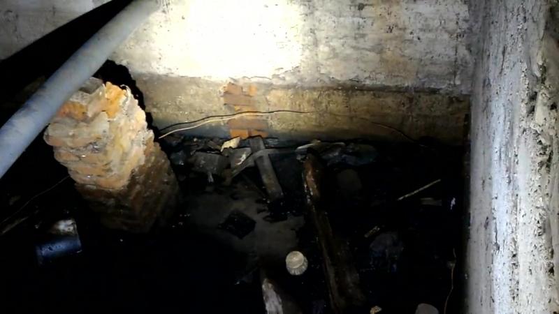 Нечистоты в подвале дома - Саранск
