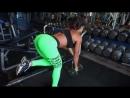 Тяга гантели в наклоне одной рукой - упражнение для развития мышц спины
