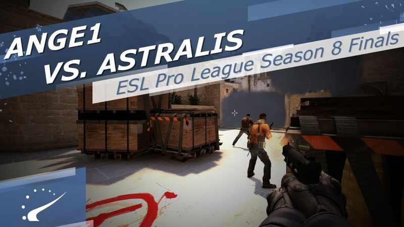 ANGE1 vs. Astralis - ESL Pro League Season 8 Finals
