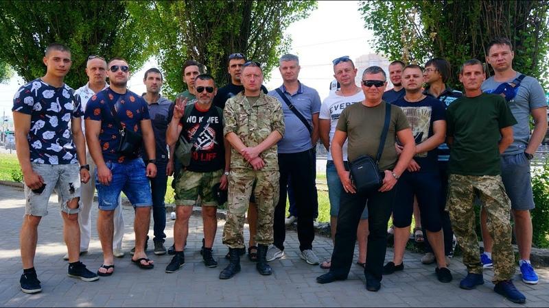 Харківські ветерани АТО знайшли неординарний спосіб захистити свої права