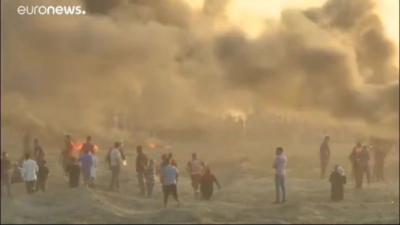 CRAZY NEWS NOW - Dozens killed after Gaza border protests