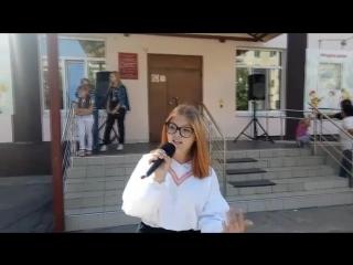 Концерт на выборах в Сызрани 9 сентября 2018