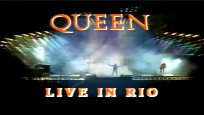 Queen Rock In Rio FULL CONCERT | 720pᴴᴰ | Widescreen