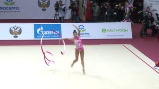 Ekaterina Selezneva - Ribbon AA GP Moscow 2019 17.90