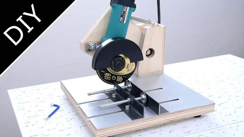 2 in 1 Handmade Angle Grinder Stand :自作ディスクグラインダースタンド